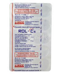 RDL C 5mg Capsule 10'S