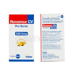Novamox CV 228.5mg Dry Syrup 30ml