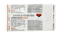 Cresar AM 80mg Tablet 10'S