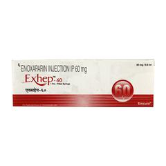 Exhep 60mg Injection 0.6ml