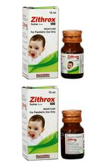 Zithrox 100mg Suspension 15ml