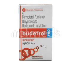 Budetrol 100 Inhaler 120md