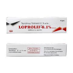 Loprolif 0.1% Ointment 10gm