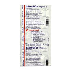 Glimulin 2mg Tablet 15'S