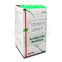Azilide 200mg Redimed Suspension 15ml