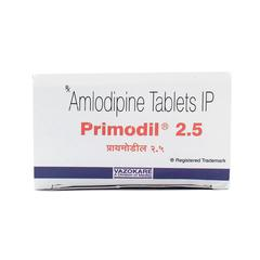 Primodil 2.5mg Tablet 10'S
