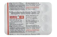 Minoz 100mg Tablet 10'S