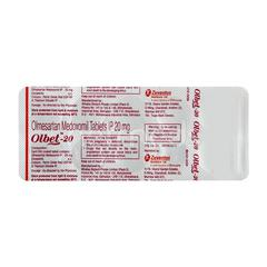 Olbet 20mg Tablet 10'S