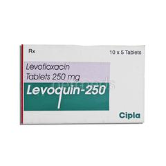 Levoquin 250mg Tablet 5'S