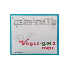 Vogli Gm2 Forte Tablet 10'S