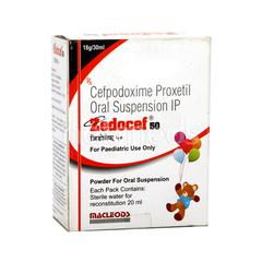 Zedocef 50mg Oral Suspension 30ml