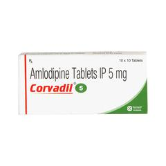 Corvadil 5mg Tablet 10'S