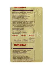 Nuroday Tablet 10'S