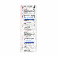 Rabemac 20mg Tablet 10'S