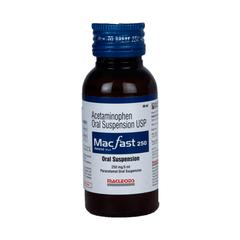 Macfast 250mg Suspension 60ml