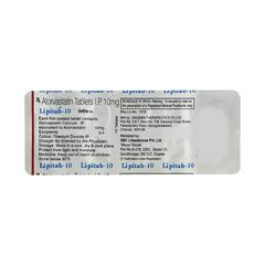 Lipitab 10mg Tablet 10'S