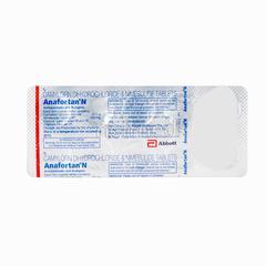 Anafortan N Tablet 10'S