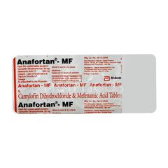 Anafortan MF Tablet 10'S