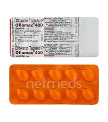 Oflomac 400mg Tablet 10'S