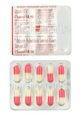 Channel SR 90mg Tablet 10'S
