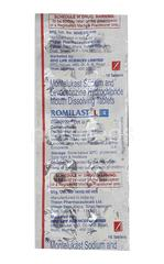 Romilast L 4mg Tablet 10'S