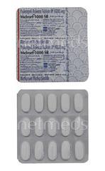 Melmet SR 1gm Tablet 15'S