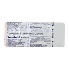 Zerodol S Tablet 10'S