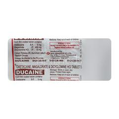 Ducaine Tablet 10'S
