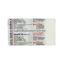 Dycerin GM Tablet 10'S