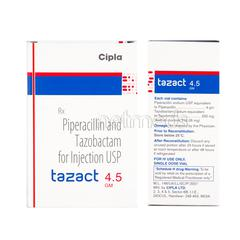 Tazact 4.5gm Injection 1'S