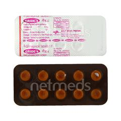 Gride 4mg Tablet 10'S