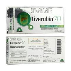 Liverubin 70mg Tablet 10'S