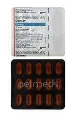 Obimet 500mg Tablet 15'S