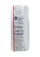 Nulong 5mg Tablet 10'S
