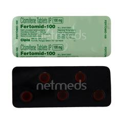 Fertomid 100mg Tablet 5'S
