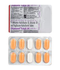 Dianorm Total 30mg Tablet 10'S