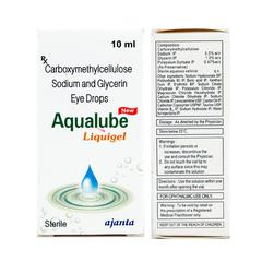 Aqualube Liquigel Eye Drops 10ml