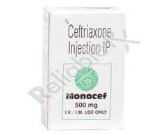 Monocef 500mg Injection 1's
