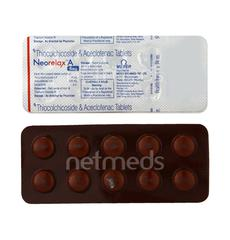 Neorelax A 4mg Tablet 10'S
