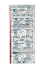 Arbitel 80mg Tablet 10'S