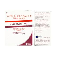 Ampoxin 500mg Injection 1's