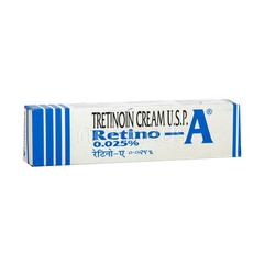 Retino A 0.025% Cream 20gm