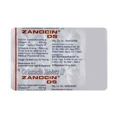 Zanocin DS Tablet 10'S