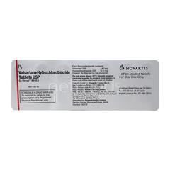 CO Diovan 80/12.5mg Tablet 14'S