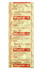 Migarid 10mg Tablet 10'S