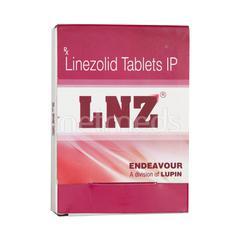 LNZ 600mg Tablet 4'S