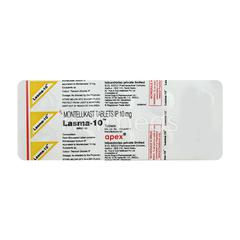 Lasma 10mg Tablet 10'S