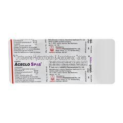 Aceclo Spas Tablet 10'S