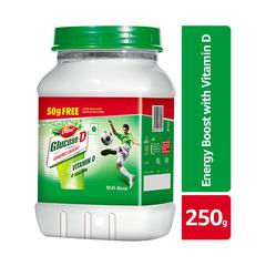 Dabur Glucose-D Powder 250 gm (Pet Jar)
