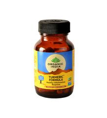 Organic India Turmeric Formula Veg Capsules 60's
